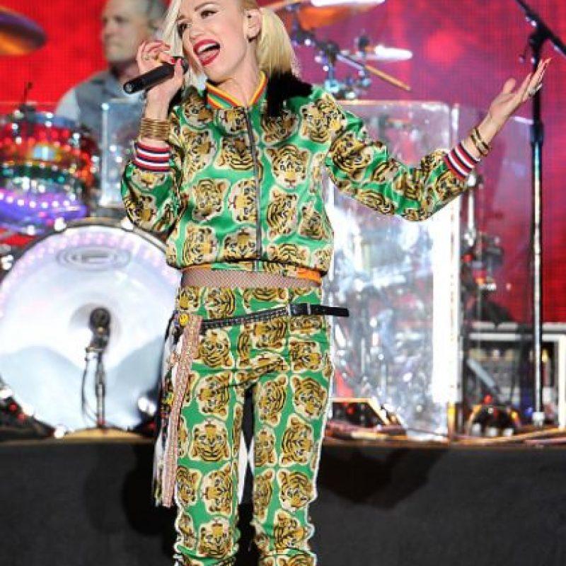 El ecléctico e inconfundible estilo de Gwen Stefani. Foto:vía Getty Images