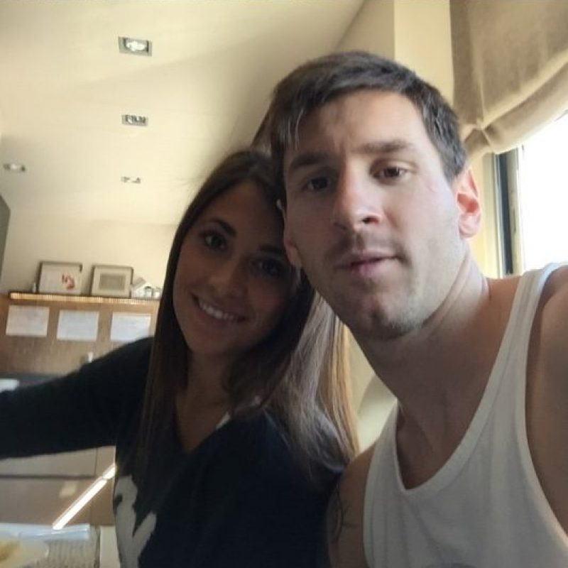 """1. Así comenzó su """"historia de amor"""" con Antonella Foto:Vía instagram.com/leomessi"""