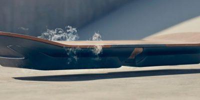 """Así es el prototipo de la tabla voladora de """"Volver al Futuro"""