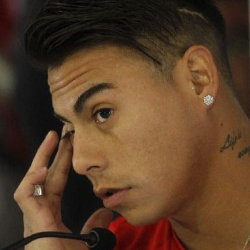 Acompaña a Alexis Sánchez en el ataque Foto:AFP