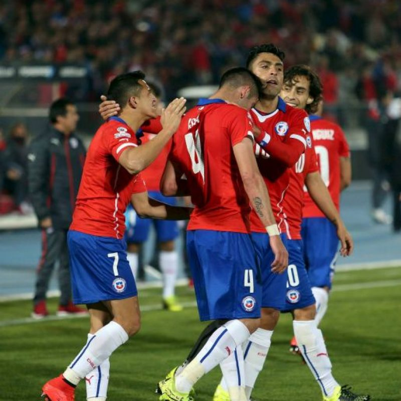 """Con ello, la """"Roja"""" se instaló en semifinales de su torneo. Foto:Vía facebook.com/SeleccionChilena"""