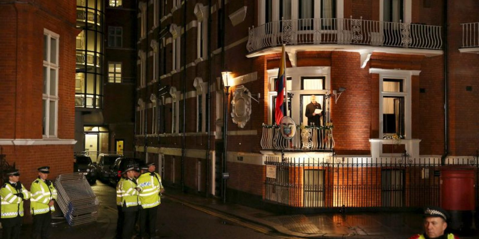 Julian Assange acusó a Stratfort de realizar espionaje a organizaciones civiles y de utilizar a informartes del gobierno estadounidense. Foto:Getty Images