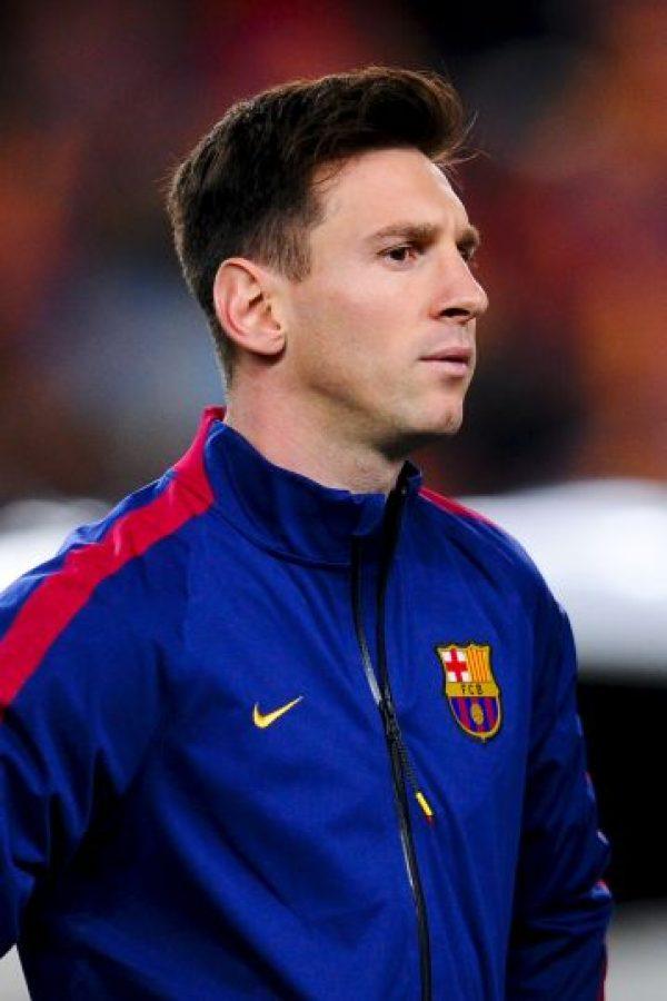 """Lionel Messi es el fan más famoso del """"Payasito"""": """"Yo creo que cada uno es diferente. Pero tengo el estilo de Aimar. Es impresionante la velocidad que tiene, cómo distribuye el juego, los balones que mete"""", confesó la """"Pulga"""" a los 15 años. Foto:Getty Images"""