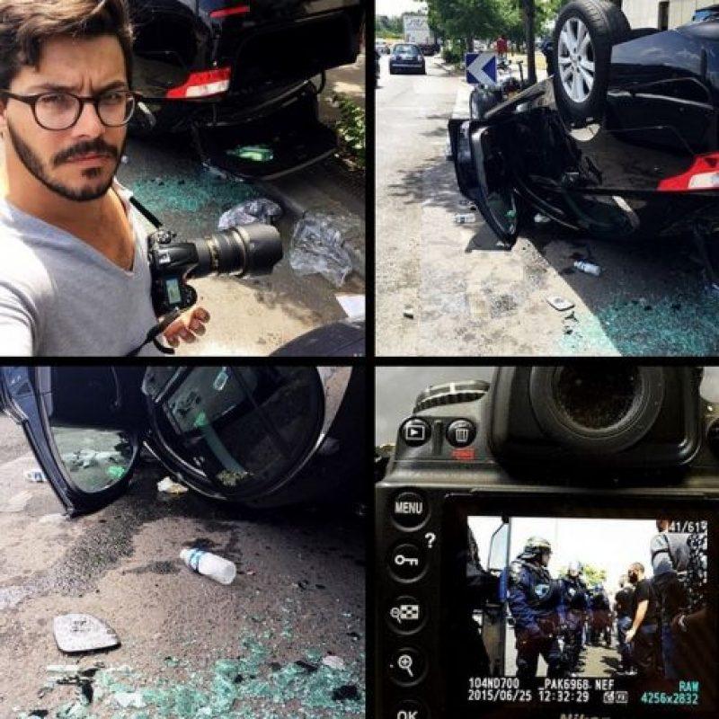 Usuarios de redes sociales comparten imágenes de las protestas. Foto:instagram.com/marcancelle