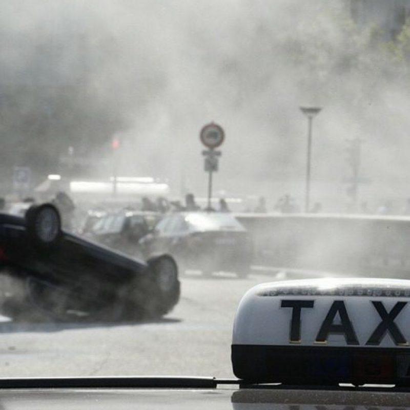 Así quedan los autos de Uber. Foto:instagram.com/tatuanakhvn777
