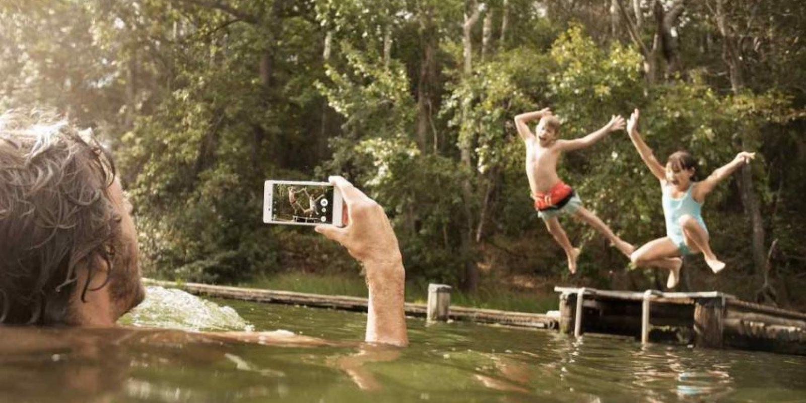 Sony Xperia Z4 Aqua está disponible por 439 dólares. Foto:Sony