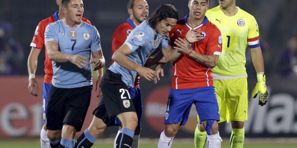 Estas palabras le dedicó Luis Suárez a Gonzalo Jara y la Selección chilena