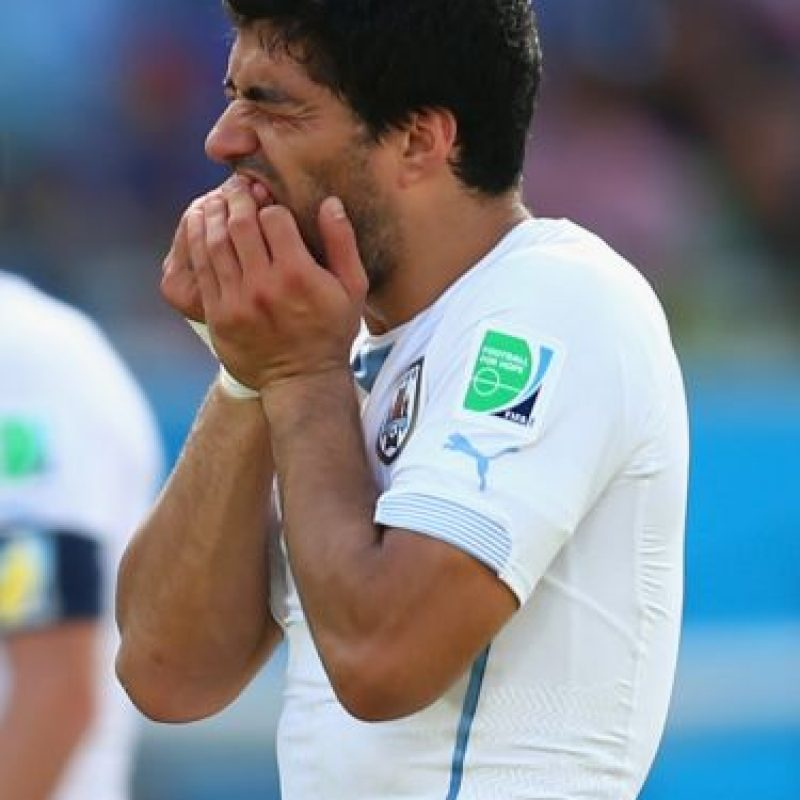 El delantero no pudo estar con su selección porque está castigado Foto:Getty Images