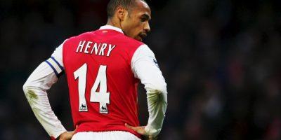 """El delantero holandés inspiró a Thierry Henry: """"Lo veía cuando era un niño y su manera de golpear el balón era increíble. Trataba de imitar todos sus movimientos"""". Foto:Getty Images"""
