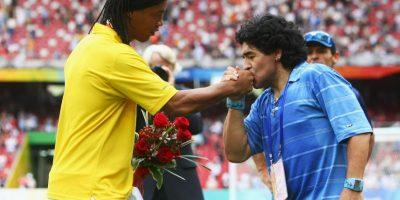 8. Diego Armando Maradona Foto:Getty Images