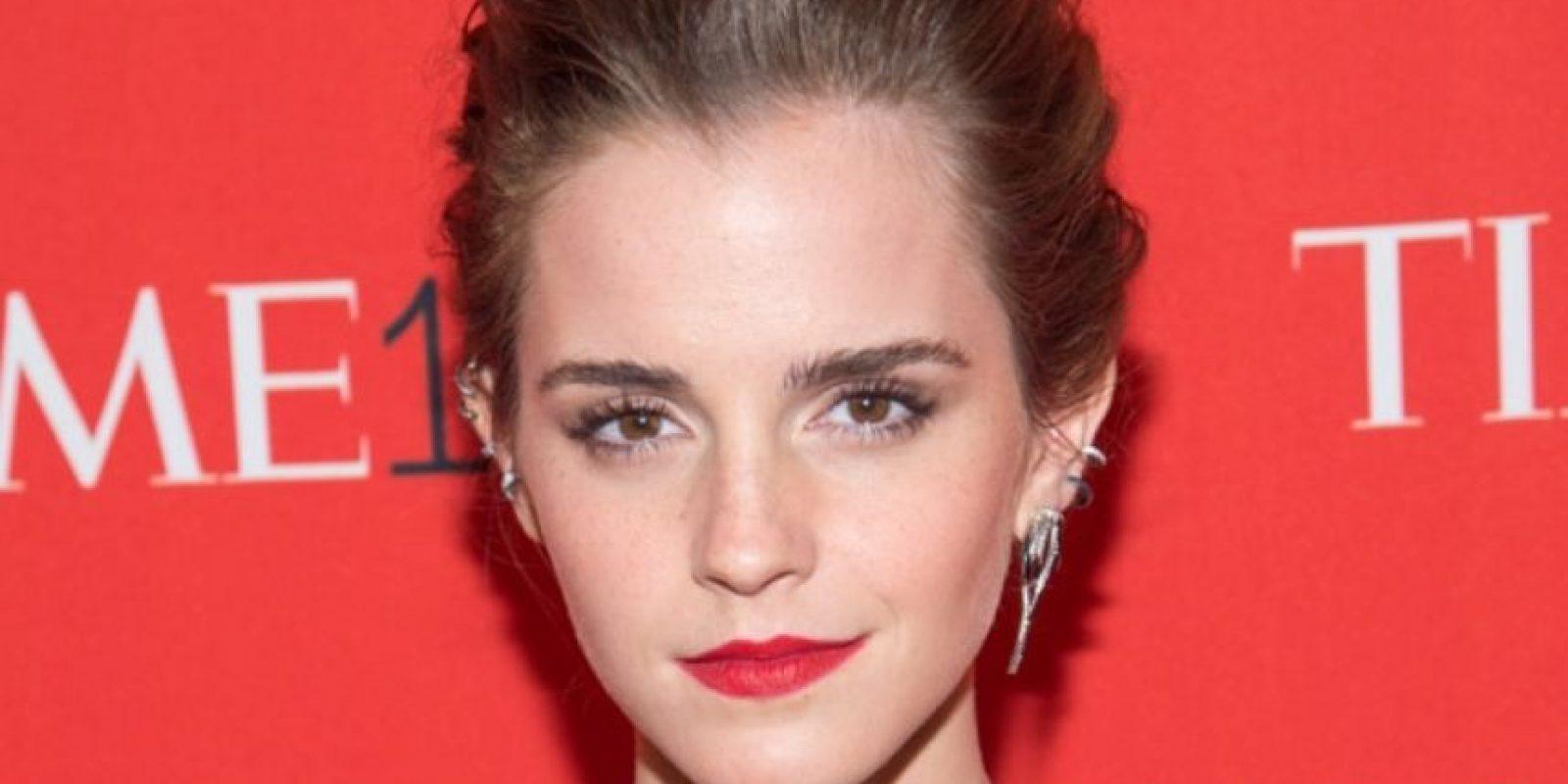 Esta vez, se centran en los pómulos. Así se puede ver con Emma Watson. Foto:vía Getty Images
