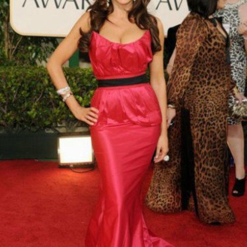 En cada alfombra roja a la que va siempre la critican por eso. Foto:vía Getty Images