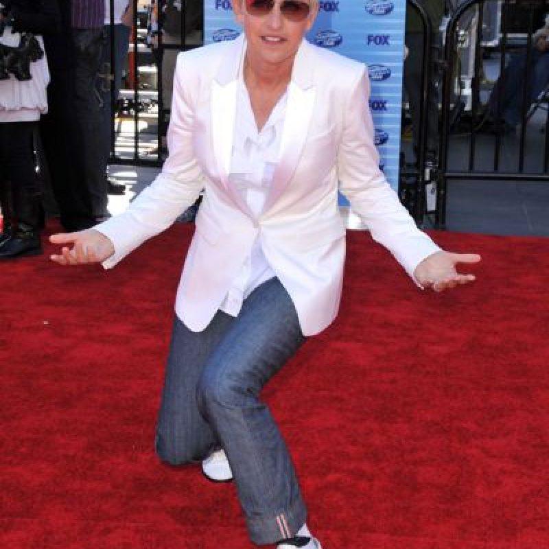 Sí, muchas estrellas que también tienen su orientación sexual se visten así, incluso mujeres del común. Foto:vía Getty Images
