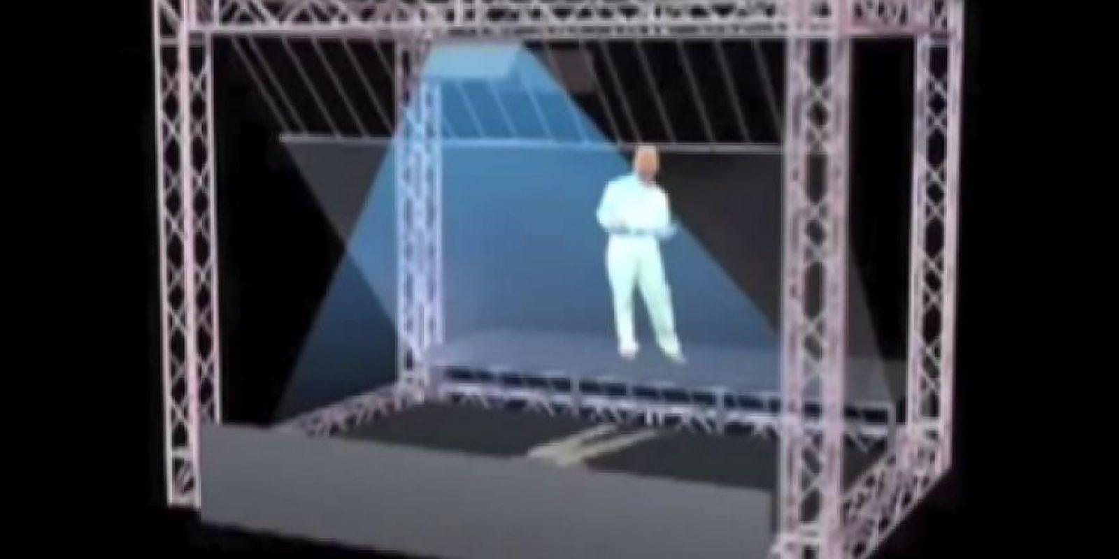 Este es un esquema de cómo se construyó el holograma de Michael Jackson para los premios Billboard 2014 Foto:Wikicommons