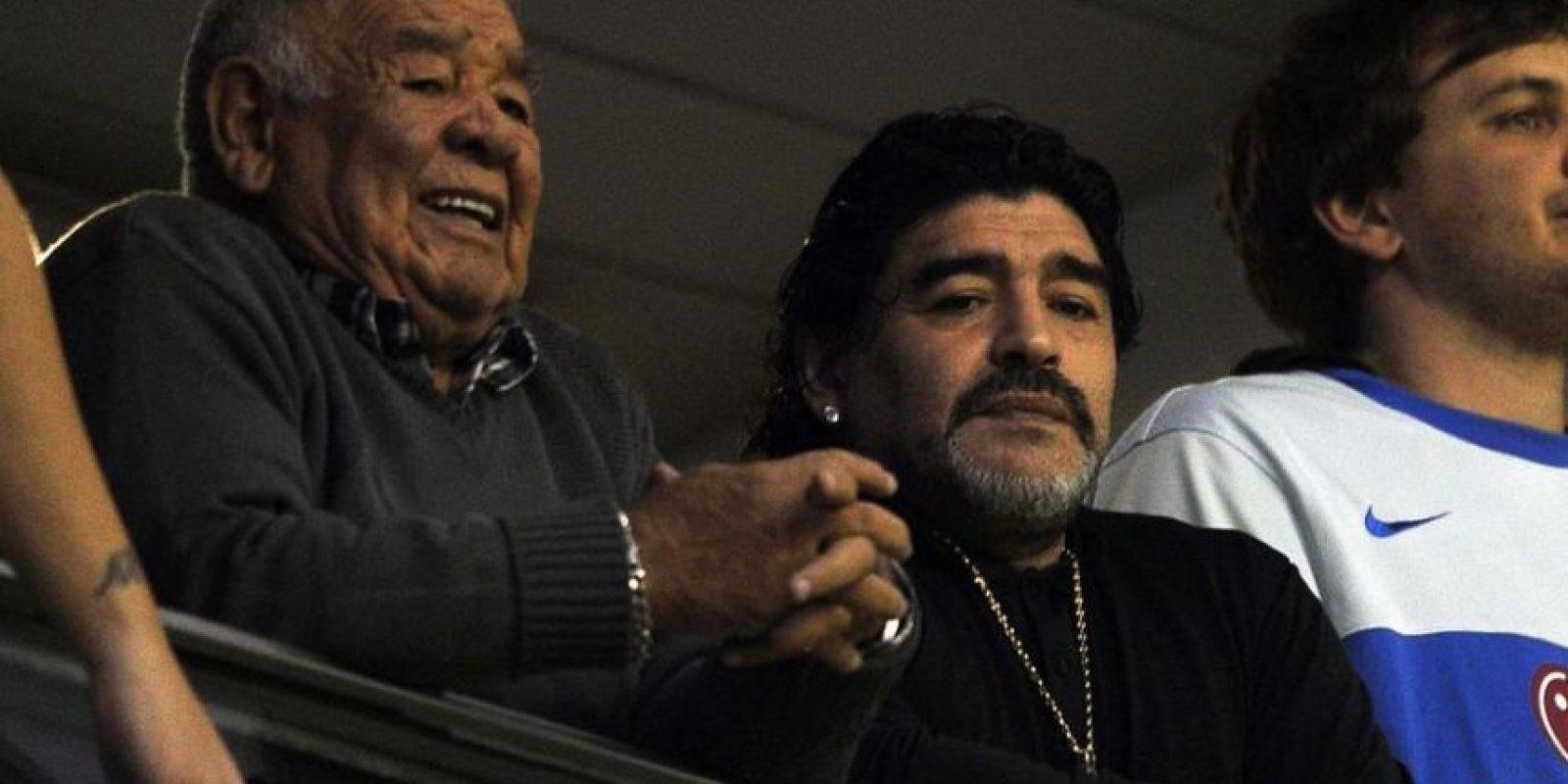 """""""El Pelusa"""" se encuentra en Argentina y tenía planeado visitar a su padre en el hospital Foto:Getty Images"""