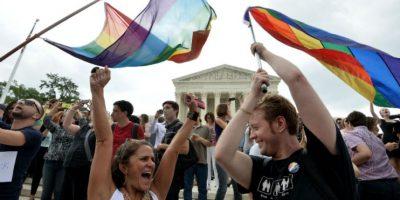 La comunidad homosexual celebra la noticia. Foto:AFP