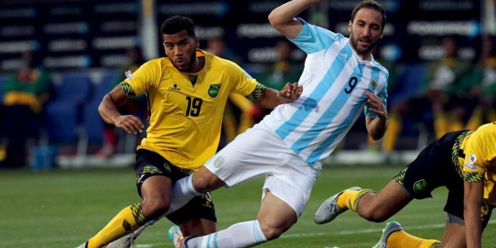 """Los """"Albicelestes"""" empataron con Uruguay 2-2 y vencieron a Jamaica y Uruguay por marcador 1-0. Foto:Vía facebook.com/AFASeleccionArgentina"""