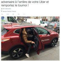 Estuvo disponible en Francia. Foto:Uber