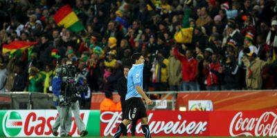 """Al final, la acción de Suárez funcionó al equipo """"Celeste"""", pues vencieron a los africanos 4-2 en penales Foto:Getty Images"""
