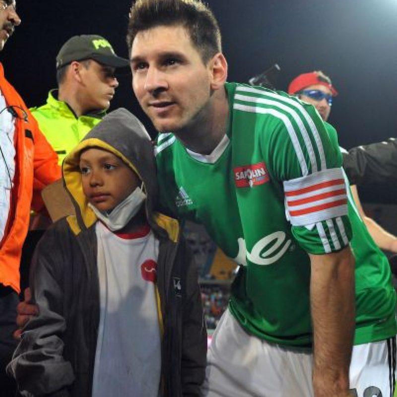Cada partido apoyaba a una causa benéfica. Foto:Getty Images