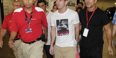Leo antes de los partidos. Foto:Getty Images