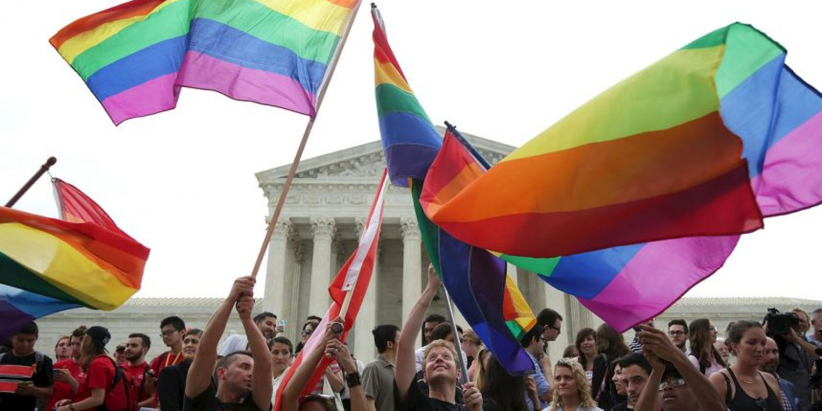 El Tribunal Supremo legalizó el matrimonio gay. Foto:Getty Images