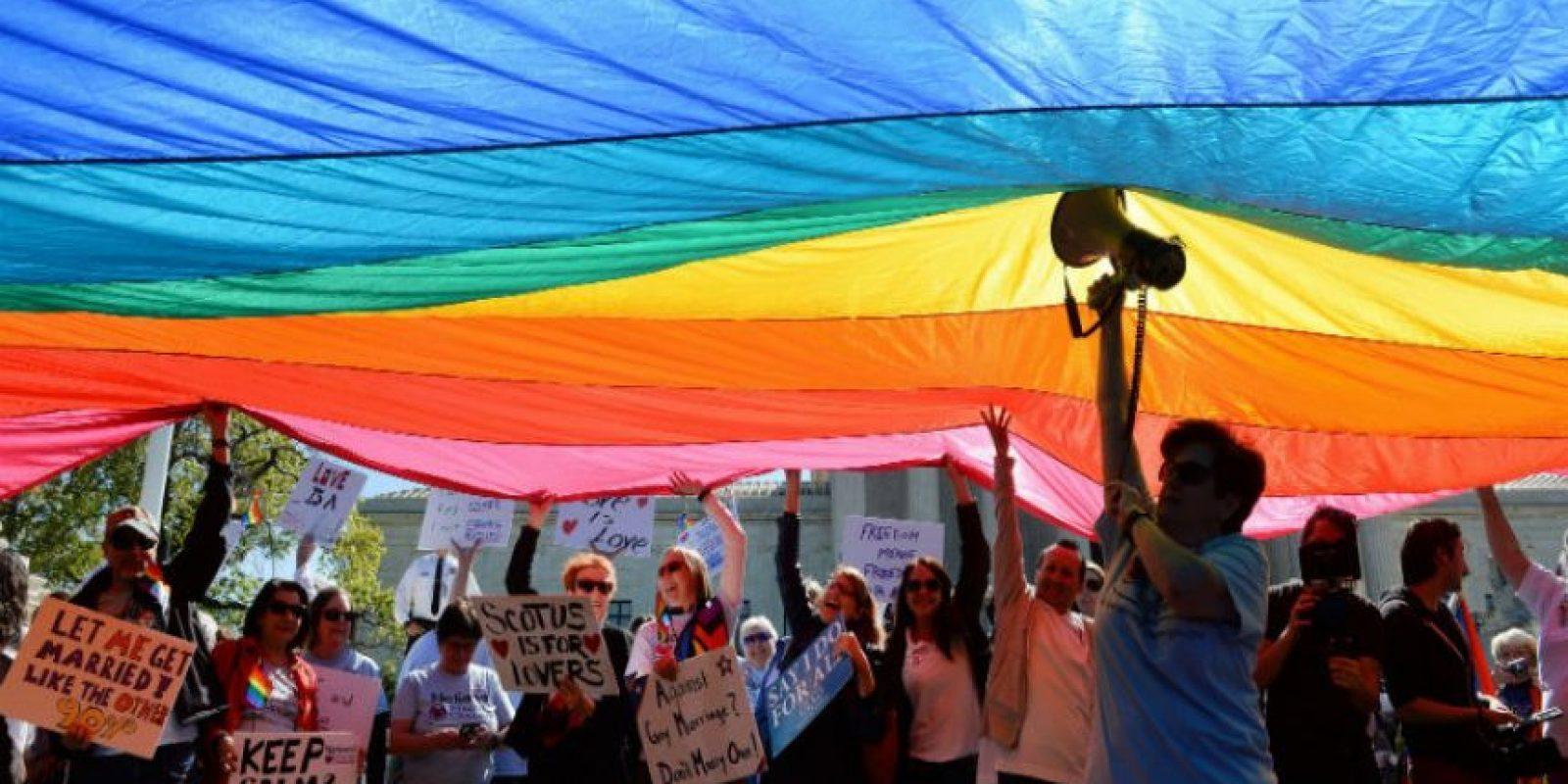 Este viernes se lelegalió el matrimonio gay. Foto:Getty Images