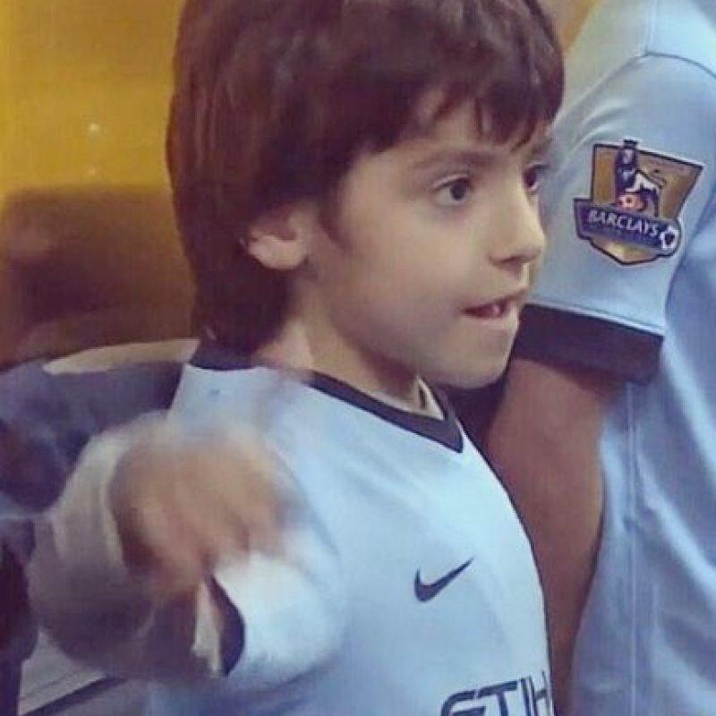 Giannina y Agüero son padres de Benjamín, el primer nieto de Maradona. Foto:Vía instagram.com/gianmaradona