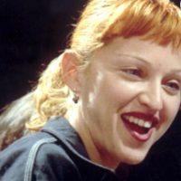 Madonna parecía de la secta de los Reptilianos con este peinado. Foto:vía Getty Images