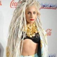 Lady Gaga, ser Bob Marley déjaselo a Bob Marley. Foto:vía Getty Images