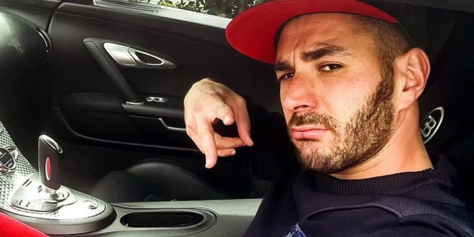 1. Karim Benzema Foto:Vía instagram.com/karimbenzema