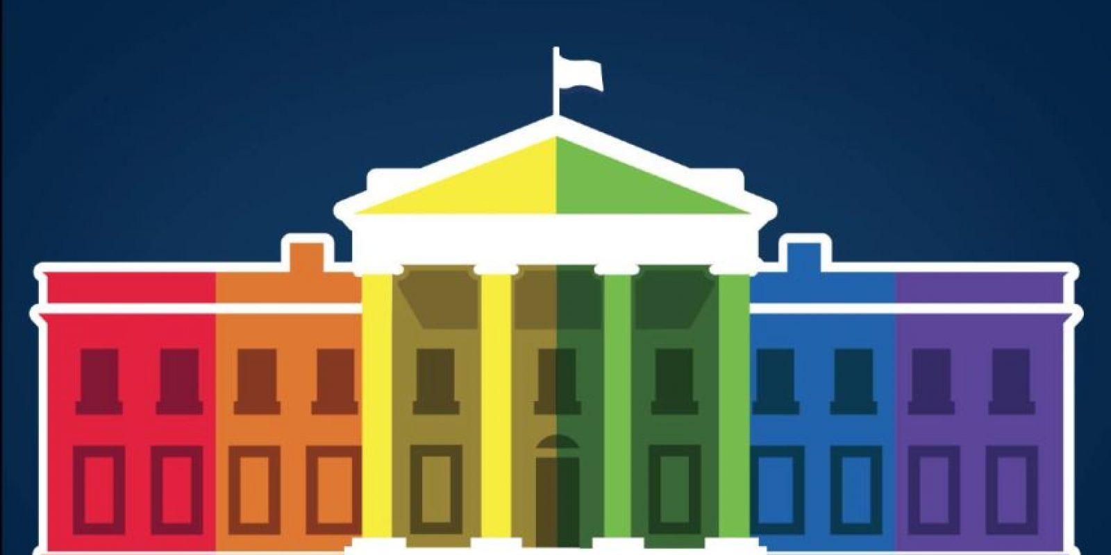 Así celebró la Casa Blanca la aprobación de la nueva ley. Foto:Vía facebook.com/WhiteHouse