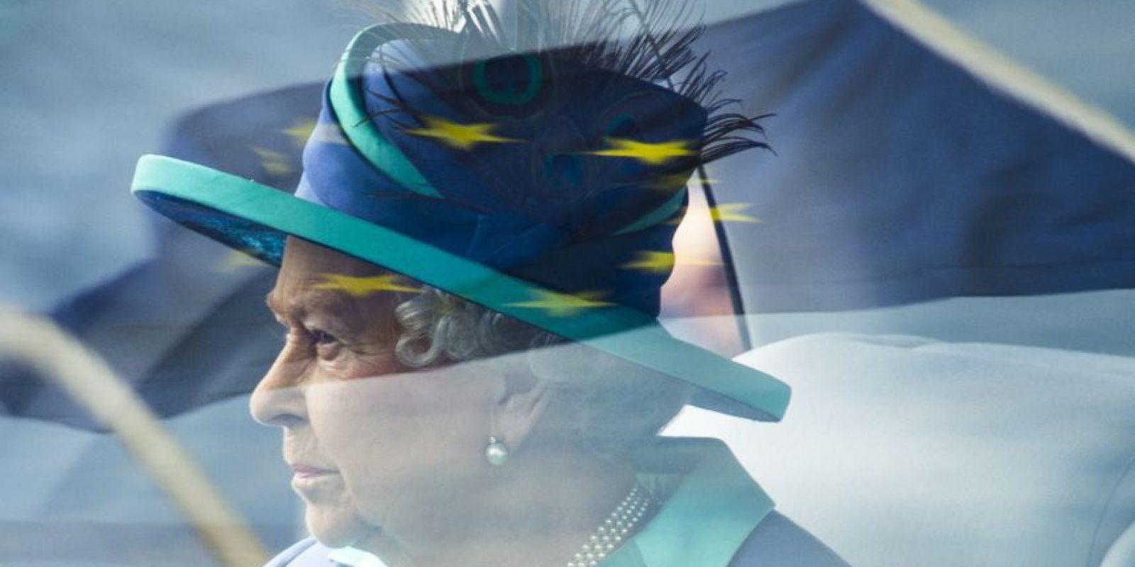 Visita de la reina de Inglaterra Isabel II a Alemania. Foto:AFP