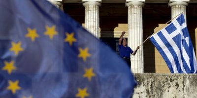 Grecia continúa a la espera de una decisión que resuelva su crisis económica. Foto:AFP