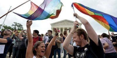 El Tribunal Supremo de Estados Unidos legalizó el matrimonio entre personas del mismo sexo en todo el país. Foto:AFP