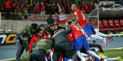 Ahora, Chile está en semifinales por primera vez desde 1999. Foto:Vía facebook.com/SeleccionChilena