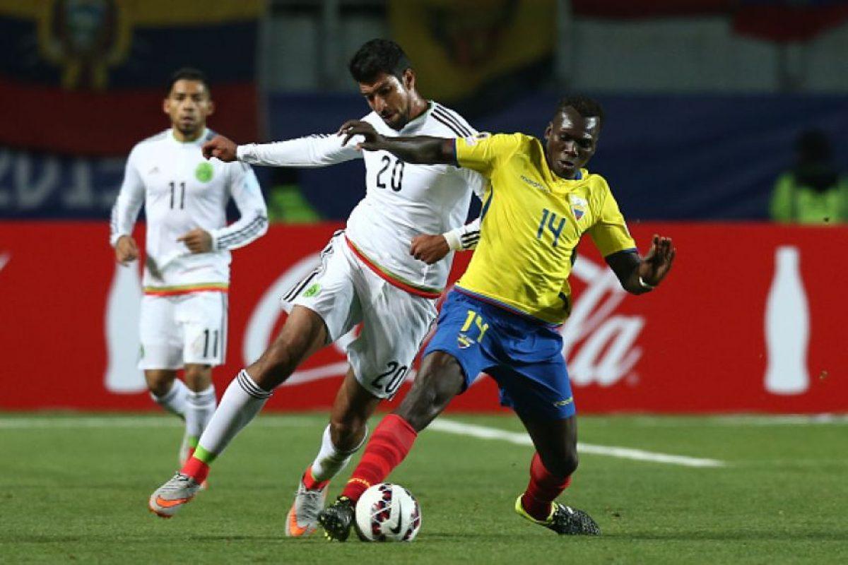 Atrás quedaron esos tiempos cuando el combinado mexicano era protagonista del torneo sudamericano e incluso, llegó a dos finales. Foto:Getty Images