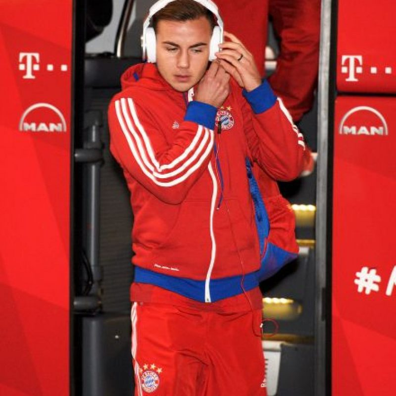 7. Mario Götze. Foto: Getty Images