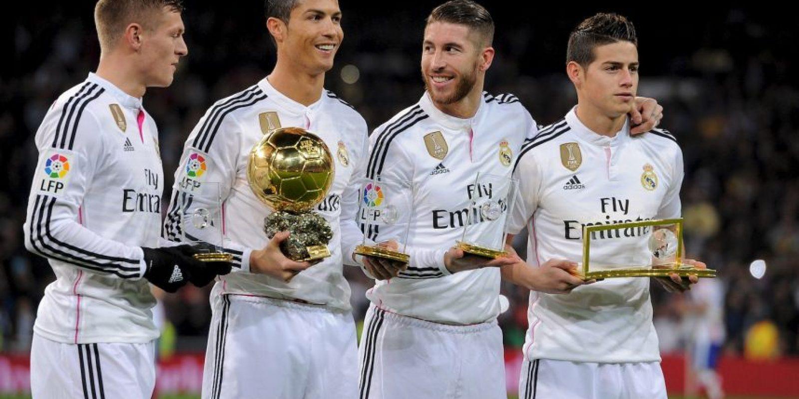Cristiano desea la continuidad de Sergio Ramos en el Real Madrid Foto:Getty Images
