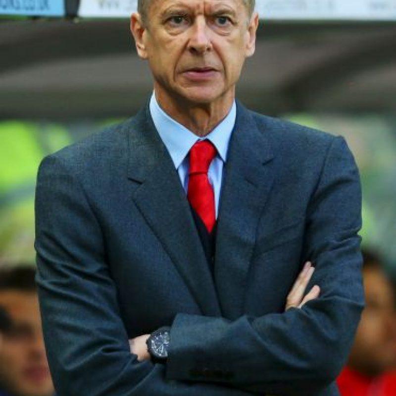 10. Arsene Wenger Foto:Getty Images