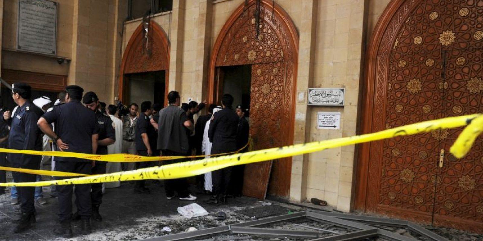 La explosión dejó al menos 25 muertos. Foto:AP