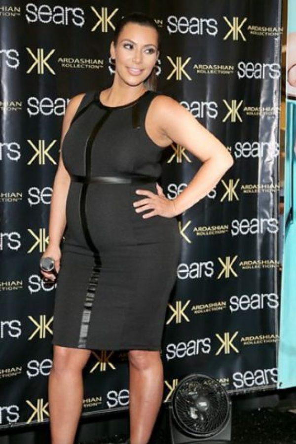 Otro vestido recto arruinado. Foto:vía Getty Images