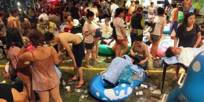 Más de 200 heridos tras incendio en Taiwán