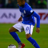 Además, protagonizó una pelea con Carlos Bacca y insultó en los túneles al árbitro chileno Enrique Osses. Foto:Getty Images