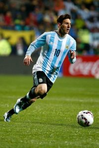 DELANTEROS: Lionel Messi (Argentina) Foto: Getty Images