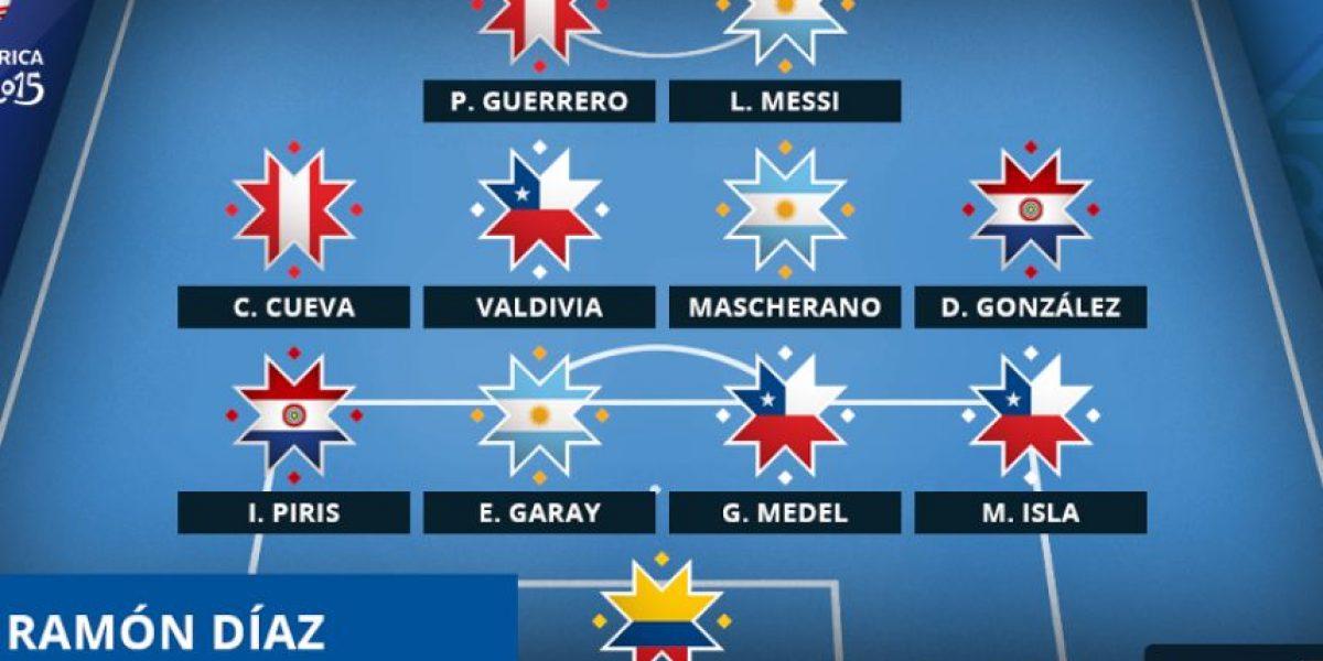 FOTOS: Este es el 11 ideal de los cuartos de final de la Copa América