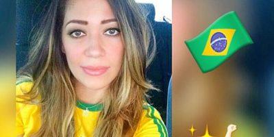 Con el hashtag #CopaAmerica, compartieron fotos con la playera de su selección. Foto:Vía instagram.com/sue_mora