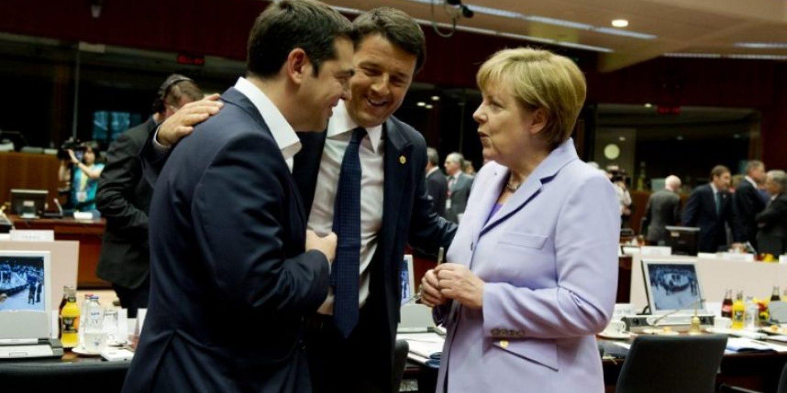 """""""Alemania es el principal prestador de Grecia"""", comenta Sohr. Ellos son muy estrictos en sus finanzas públicas y objetan de manera bastante fuerte la forma inmoral e irresponsable en la que Grecia utilizó los recursos"""". Foto:AFP"""
