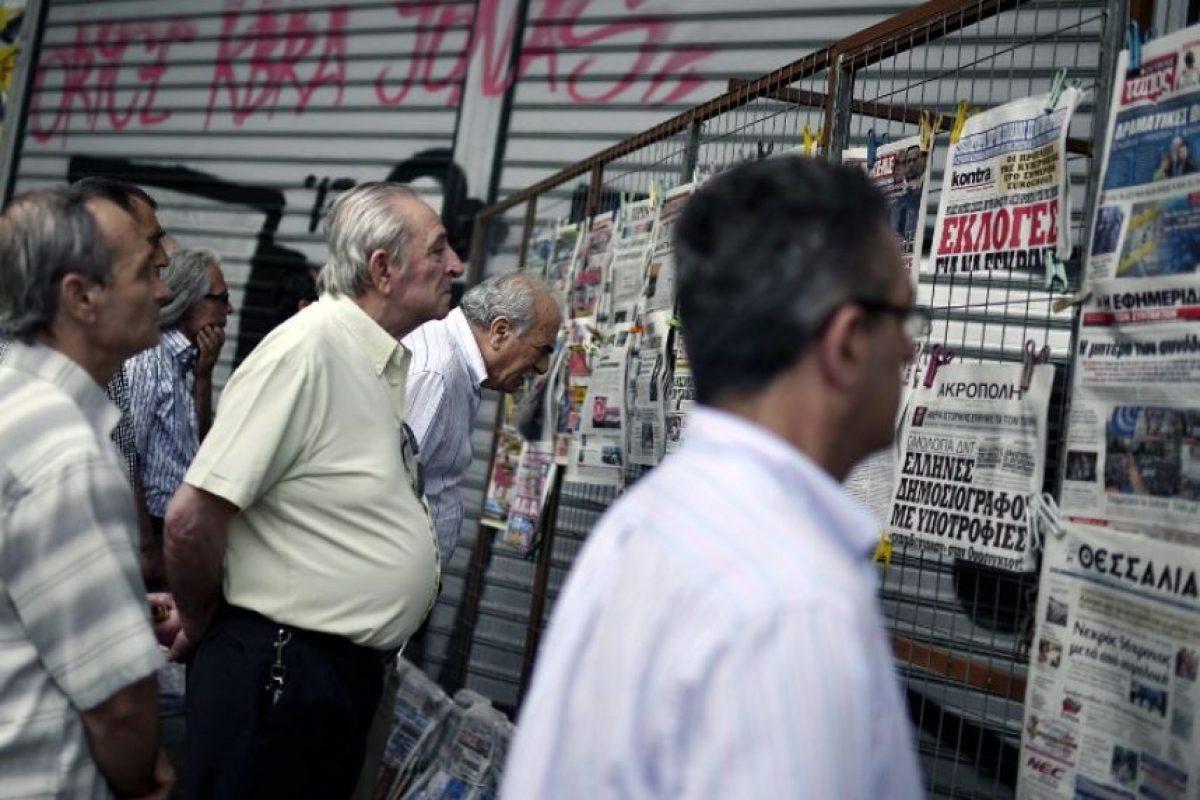 """""""Tsipras, con su partido Syriza, asumió el rechazo del pueblo griego a una situacion que se prolongaba indefinidamente. El país estaba en cinco años de crecimiento negativo sin esperanzas de cambio"""", comenta Raúl Sohr Foto:AFP"""