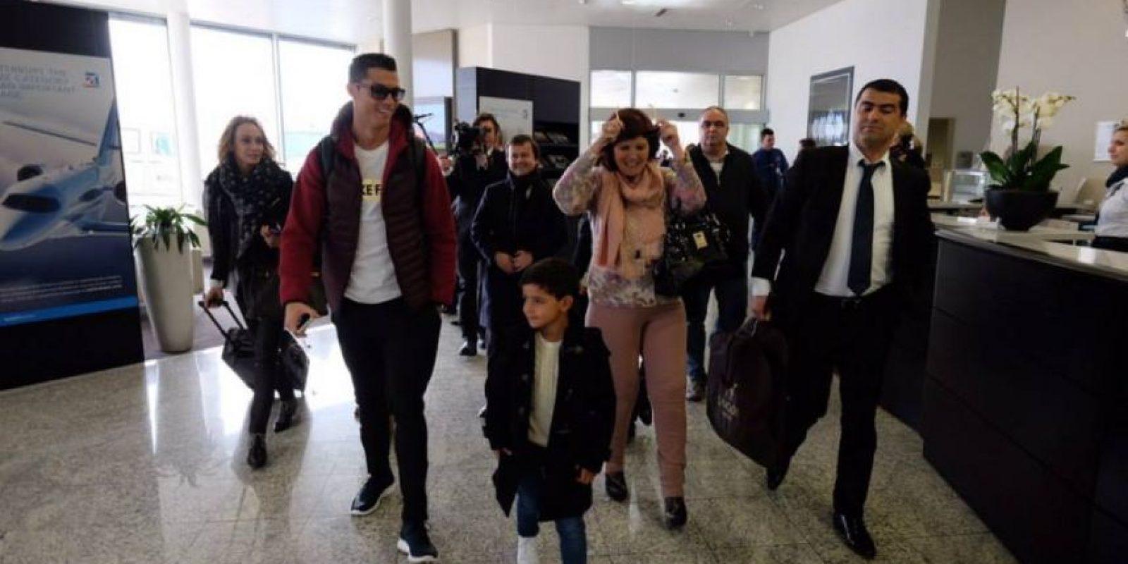 La identidad de la madre no se puede revelar por contrato. Foto:Vía instagram.com/Cristiano